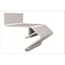 Багет для парящих потолков алюминиевый БЕЗ ВСТАВКИ (2.0 м) ПФ2429