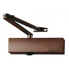 Дверной доводчик с рычажной тягой, с силой закрывания 2/4/5 по стандарту EN 1154 (коричневый)