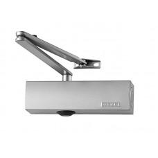 TS 2000 V - Дверной доводчик с рычажной тягой, с силой закрывания 2/4/5 морозостойкий без тяги (серебро)