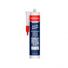 PENOSIL Premium Acrylic Sealant - герметик акриловый всесезонный (белый), 310г