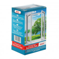 Комплексный набор для ухода за окнами из ПВХ BASIK   (4х1)