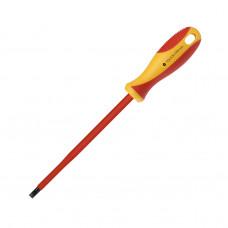 Диэлектрическая отвертка Smartbuy Tools шлицевая SL5.5*125, до 1000В, VDE сертификат, испытания