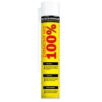 РЕМОНТ НА 100% Бытовая монтажная пена 600 мл (40 литров)