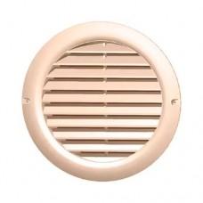 Вентиляционная решетка 48 мм + протекторное кольцо (бежевая)