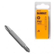 DeWALT - Бита двухсторонняя 50 мм Ph2