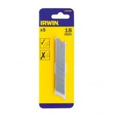 Лезвия сменные отламывающиеся IRWIN 18 мм