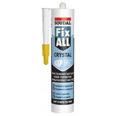 Soudal Клей-герметик FIX ALL Кристалл 290 мл