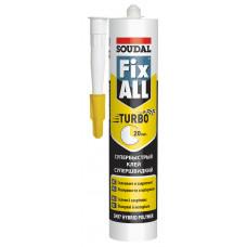 Soudal Клей-герметик FIX ALL TURBO белый 290 мл