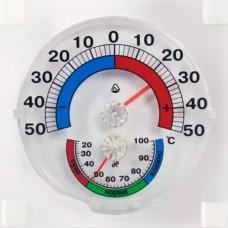 Термогигрометр биметаллический оконный ТГО 1