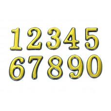 Цифра дверная № 0