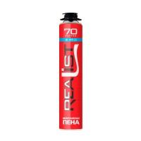 Монтажная пена Realist 70 Winter (зима) 875 мл (70 литров)