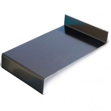 Водоотливы алюминиевые коричневые 150 мм