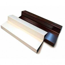 Водоотливы алюминиевые белые 110 мм (балконный)